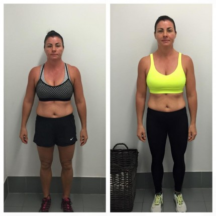 crossfit before and afters